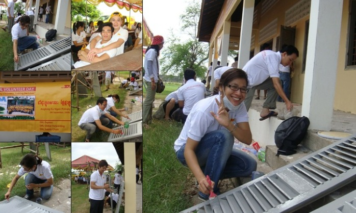View DHL Volunteer day
